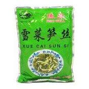 Shredded Snow Vegetable & Bamboo Shoot (Xue Cai Sun Si) (魚泉雪菜筍絲)