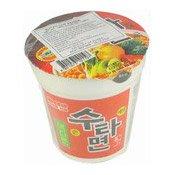 Instant Bowl Noodles (Sutah Cup Ramen) (三養手打杯麵)