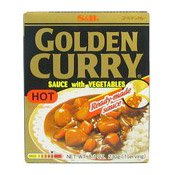 Golden Curry Sauce with Veg (Hot) (日本咖喱)