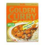 Golden Curry Sauce with Veg (Mild) (日本咖喱 (小辣))