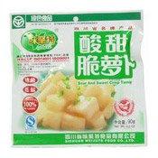 Sour & Sweet Crisp Turnip (酸甜脆蘿卜)