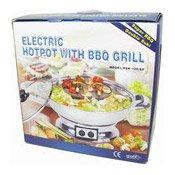 Electric Hotpot With BBQ Grill (韓國燒烤/火鍋煲)
