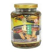 Sliced Young Shiitake Mushrooms (醬道茸珍菇)