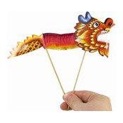 Paper Dragon Puppet (Small) (小燈籠紙)