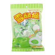 Marshmallow With Green Apple Flavour Filling (棉花糖)