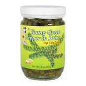 Young Green Pepper In Brine (Hat Tieu Tu'oi) (青胡椒)