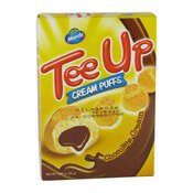 Tee Up Cream Puffs (Chocolate Cream) (朱古力餅)