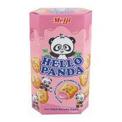 Hello Panda Biscuits (Strawberry Filling) (士多啤梨味熊猫餅)