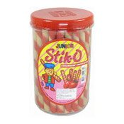 Stik-O Strawberry Wafer Stick (草莓味威化條)