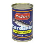 Sardines In Vegetable Oil (油浸沙丁魚)