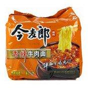 Instant Big Noodles Multipack (Spicy Beef) (今麥郎香辣牛肉麵)