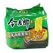 Instant Big Noodles Multipack (Stewed Pork) (今麥郎彈麵)