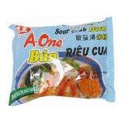 Instant Rice Vermicelli (Sour Crab) (味王冬陰蟹米粉)