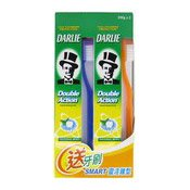 Double Action Toothpaste (Original Strong Mint) (黑人牙膏兩支裝)