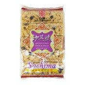Soft Flour Cakes Sachima (Raisin Sesame) (葡萄沙琪瑪)
