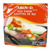 Rice Paper (Spring Roll Wrappers) 22cm (米紙)