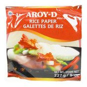 Rice Paper (Spring Roll Wrappers) 16cm (米紙)