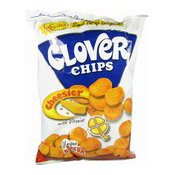Clover Chips (Cheesier) (芝士味粟米片 (大))