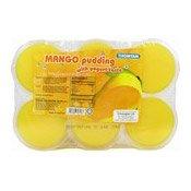 Mango Pudding With Yoghurt Taste (芒果布丁)