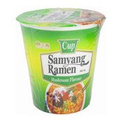Samyang Cup Ramen Instant Noodles (Mushroom) (三養杯麵)