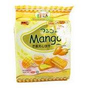 Mango flavour Cream Sandwich Biscuits (芒果夾心餅)