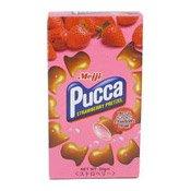 Pucca Strawberry Pretzel Biscuits (士多啤梨餅)