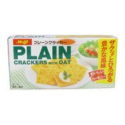 Plain Crackers With Oat (梳打麥餅)