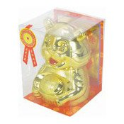 Cute Tiger Money Box With Candy (招財小金虎)