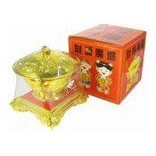 Golden Candy Bowl With Mixed Hard Candies (金碗糖果盒)