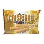 Crispiroll Peanut Flavour Wafer Rolls (花生脆卷)