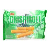 Crispiroll Lemon Flavour Wafer Rolls