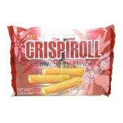 Crispiroll Strawberry Flavour Wafer Rolls (草莓脆卷)