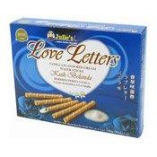 Love Letters Vanilla Cream Wafers Sticks (雲呢拿味威化卷)
