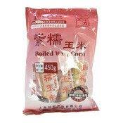 Boiled Waxy Corn (張力生紫糯玉米)