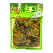 Sour & Hot Shredded Pickles (四川酸辣三絲)