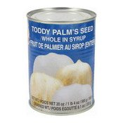 Toddy Palms Seeds Whole In Syrup (雄雞糖水律丹)
