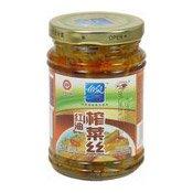 Chilli Oil Shredded Char Choi (Preserved Vegetables) (魚泉紅油炸菜)
