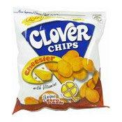 Clover Chips (Cheesier) Corn Snack (芝士味薯片)