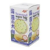 Super Big Thin Biscuits (Seaweed) (優之 海苔餅乾)