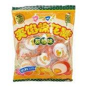 Marshmallow With Orange Flavour Filling (棉花糖)