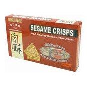 Sesame Crisps (Snaps Brittle) (珠江橋牌芝麻糖)