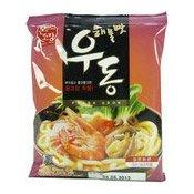 Fresh Udon With Soup Base (Heamultmat Udon) (韓式海鮮烏冬)