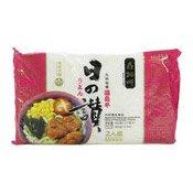 Japanese Udon-Kyushu Tonkotsu Flavour Noodles (壽桃九州豬骨烏冬)