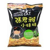 Wheat Noodles Snack (Black Pepper) (張君雅點心麵 (黑胡椒))