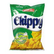 Chippy (Flavoured Garlic & Vinegar Corn Chips) (珍珍粟米片 (香蒜白醋))