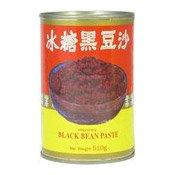 Sweetened Black Bean Paste (黑豆沙)