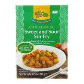 Cantonese Sweet & Sour Stir Fry (中式甜酸醬)
