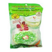 Sweet Pandan Noodles With Coconut Milk (Lod Chong Sinapore Siam) (椰漿糖水涼粉)