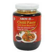 Chilli Paste With Soya Bean Oil (Namprik Pao) (泰國豉辣醬)