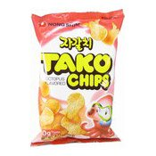 Tako Chips (Crisps Octopus Flavoured) (農心章魚脆餅)